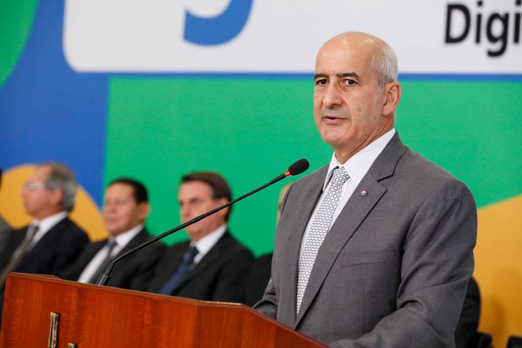 Ministro da Secretaria de Governo, Luiz Eduardo Ramos