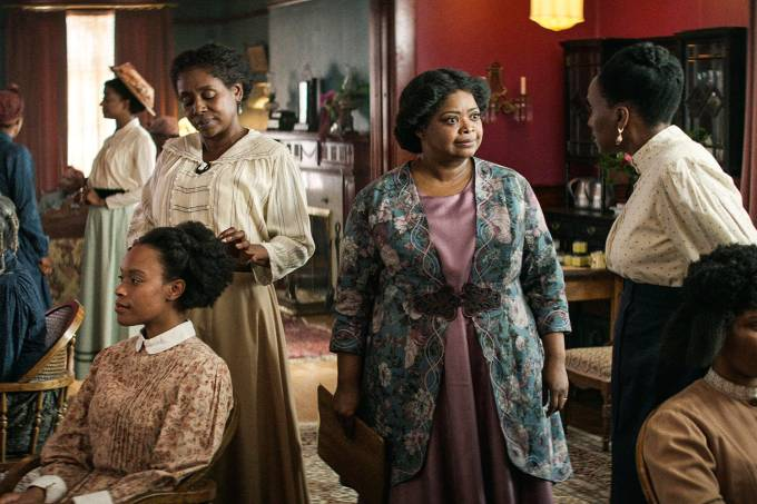 Octavia Spencer no papel da protagonista
