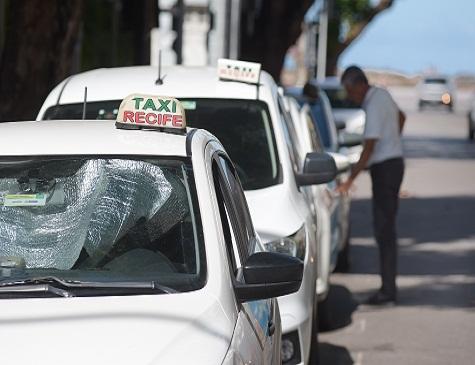 Taxis no Recife Antigo