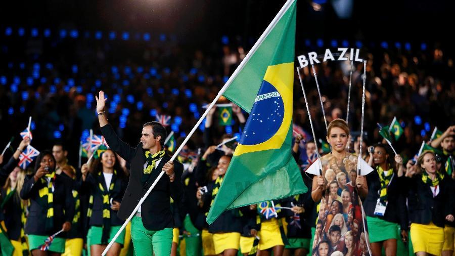 Delegação brasileira nas Olimpíadas
