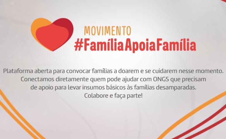 #FamíliaApoiaFamília