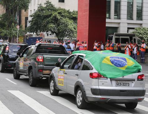 Carreata pró-Bolsonaro