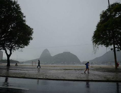 Chuvas colocam Rio de Janeiro em alerta