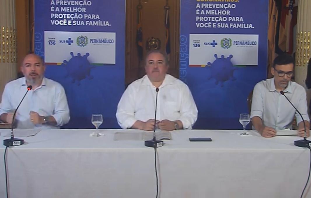 Coletiva de Imprensa sobre Covid-19 com o Secretário de Saúde André Longo