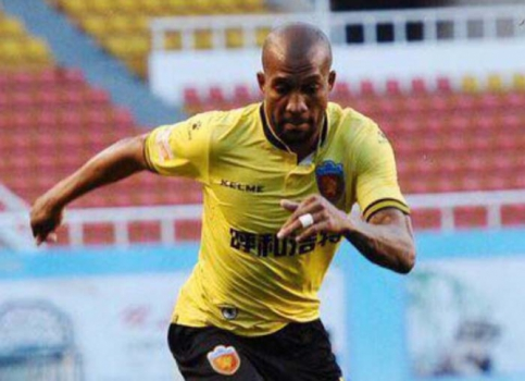 Dorielton atua em clube da segunda divisão chinesa