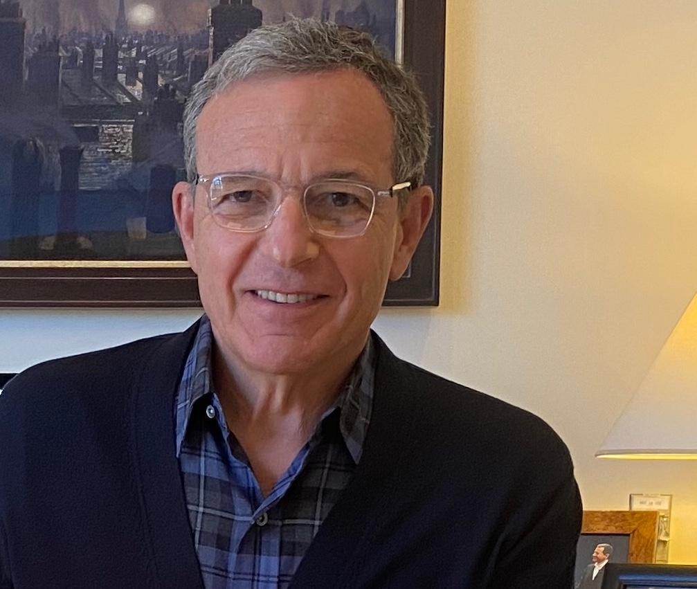 Bob Iger, presidente executivo da Disney