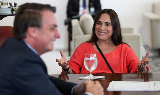 Regina duarte é atual Secretaria Especial da Cultura do governo de Jair Bolsonaro
