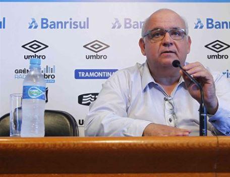 Romildo Bolzan Júnior, presidente do Grêmio