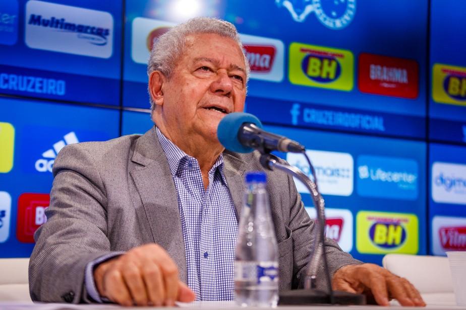 Presidente do Cruzeiro, José Dalai Rocha tem 81 anos