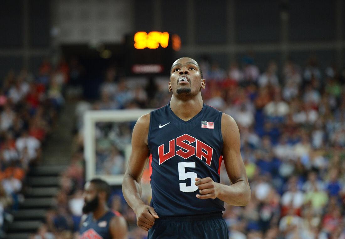 Kevin Durant, astro da NBA