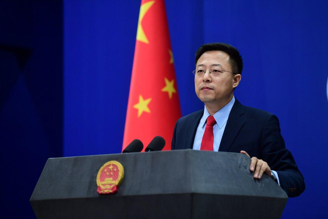 Lijian Zhao, porta-voz do ministério das Relações Exteriores