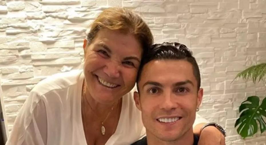 Maria Dolores e Cristiano Ronaldo