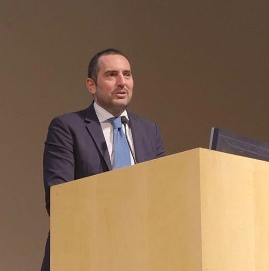 Vincenzo Spadafora, ministro dos Esportes da Itália