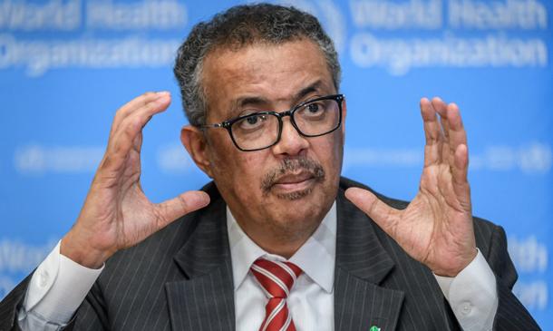 Diretor-geral da Organização Mundial de Saúde (OMS), Tedros Adhanom Ghebreyesus