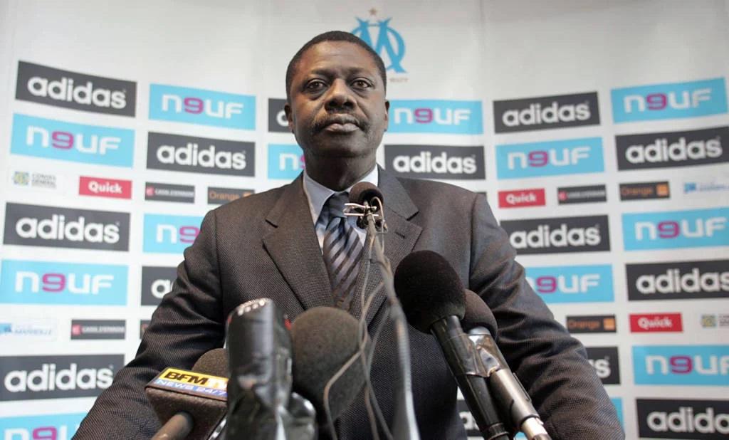 Pape Diouf, ex-presidente do Olympique de Marselha