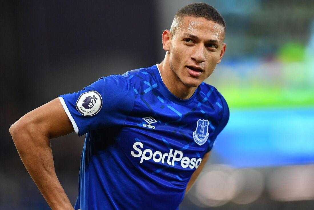Richarlison, atacante da Seleção e do Everton/ING
