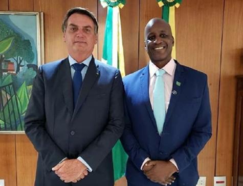 Jair Bolsonaro e Sérgio Camargo