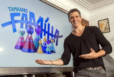 Programa Tamanho Família, apresentado por Márcio Garcia
