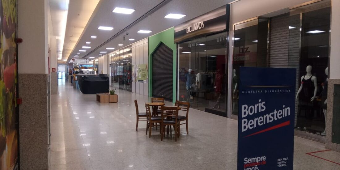 Shopping segue determinação para fechamento