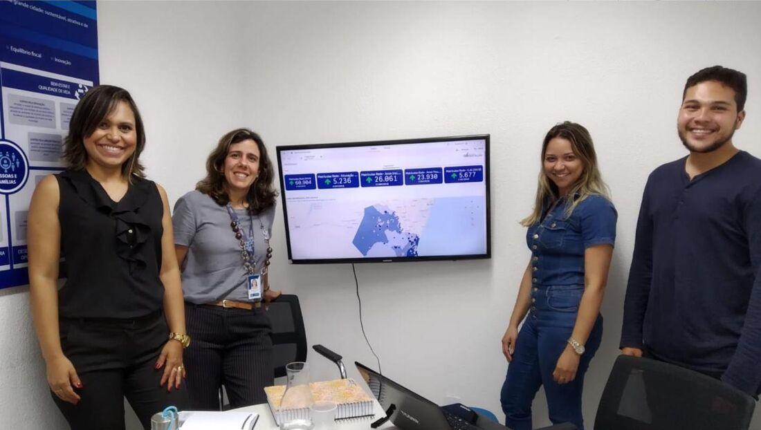 Inovação feita por Jaboatão permitiu a ampliação do projeto e agrupamento de dados