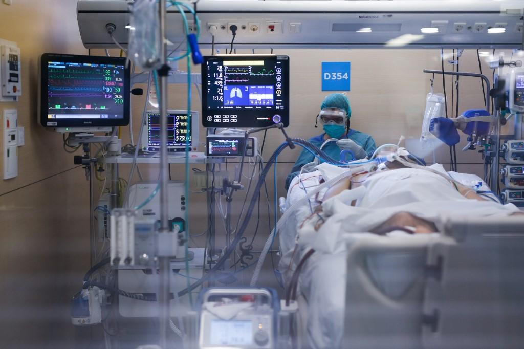 Ala de tratamento da Covid-19 na Espanha