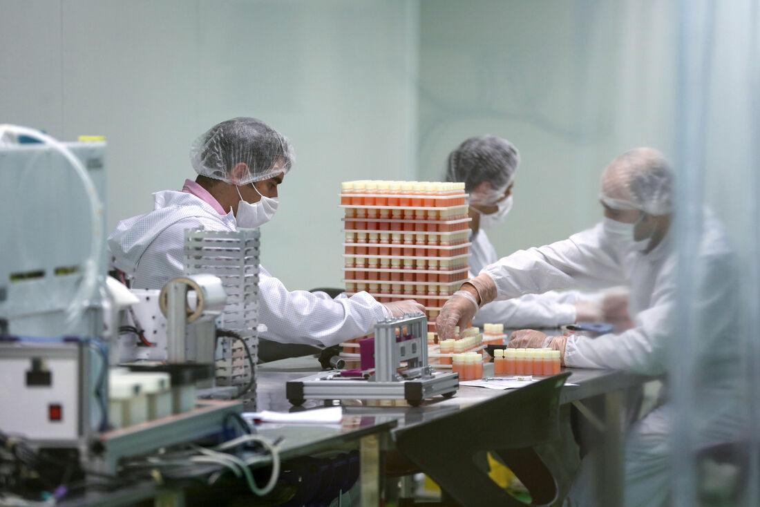 Laboratório de testes no Irã