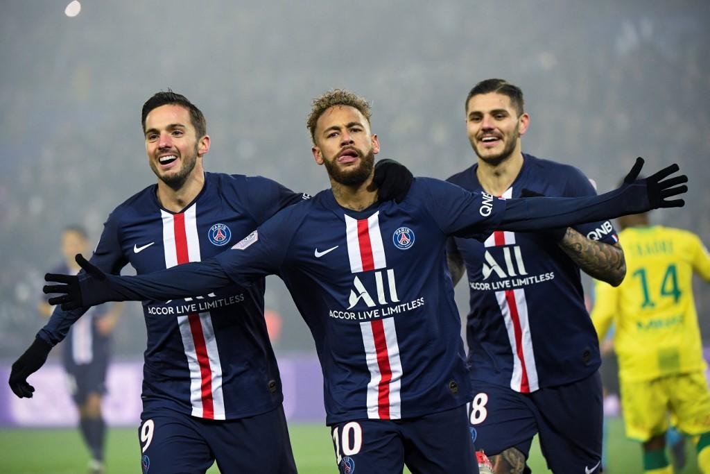 Com encerramento, PSG foi declarado o campeão do campeonato francês