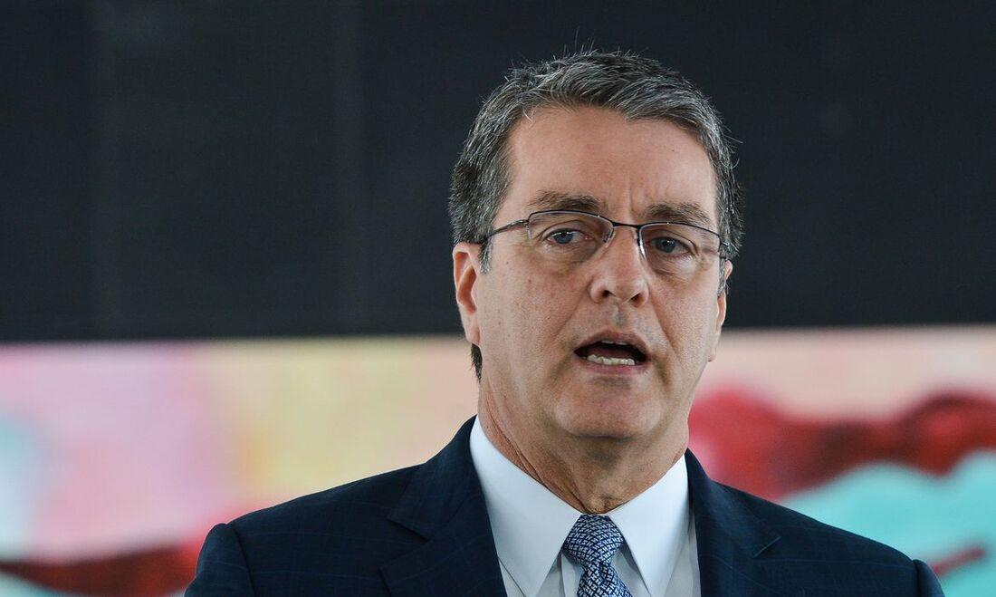 Diretor-geral da OMC, o diplomata brasileiro Roberto Azevêdo