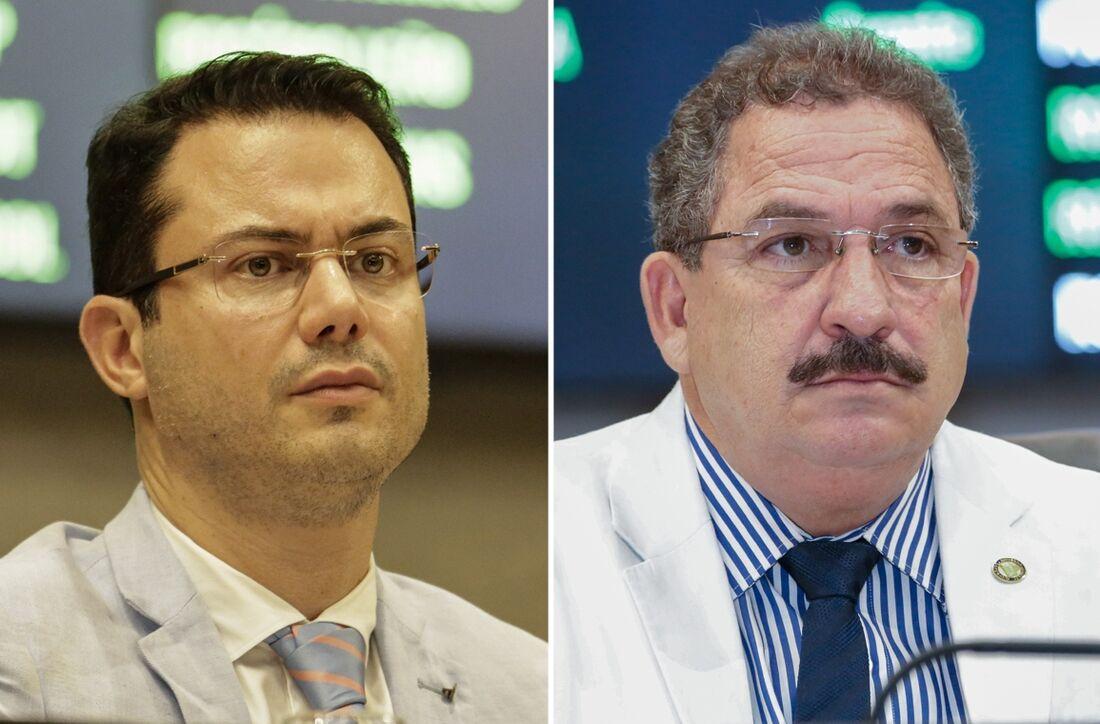 Clodoaldo Magalhães e Eriberto Medeiros