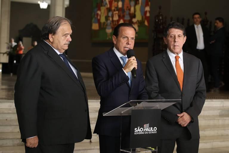 João Doria (PSDB) anunciou novas medidas para coibir o avanço do coronavírus