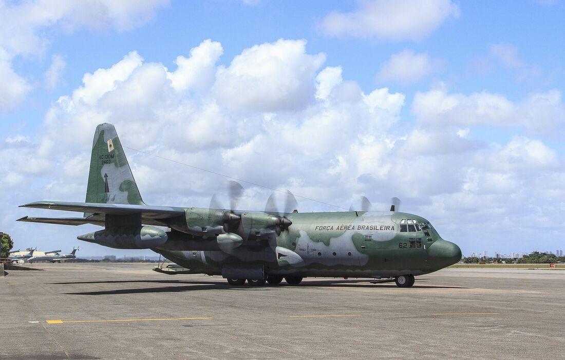 A aeronave C-130 Hércules