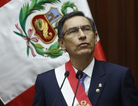 Presidente do Peru Martín Vizcarra