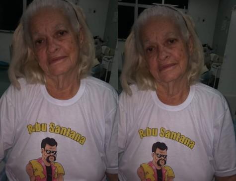 Dona Nilza estava hospitalizada