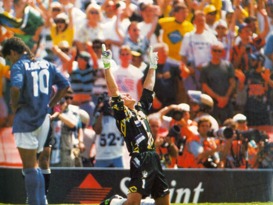 Taffarel durante a final da Copa de 1994