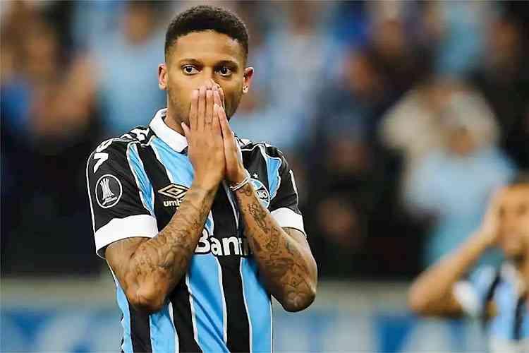 André, atacante do Grêmio