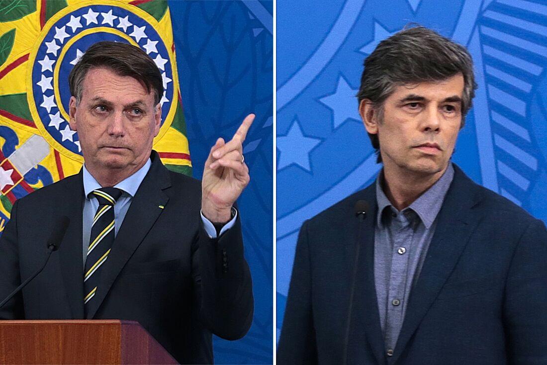 Bolsonaro e Teich