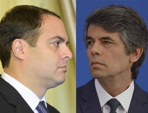 Paulo Câmara e Nelson Teich