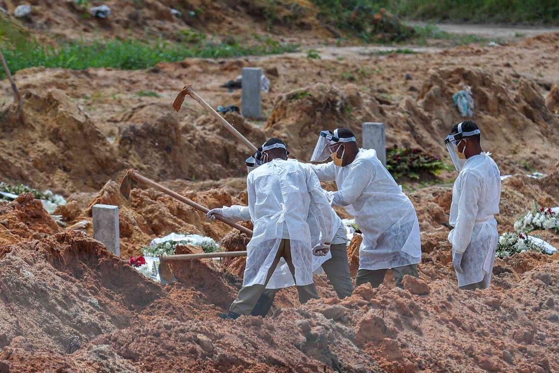 No Parque das Flores, capacidade foi ampliada para até 500 sepultamentos