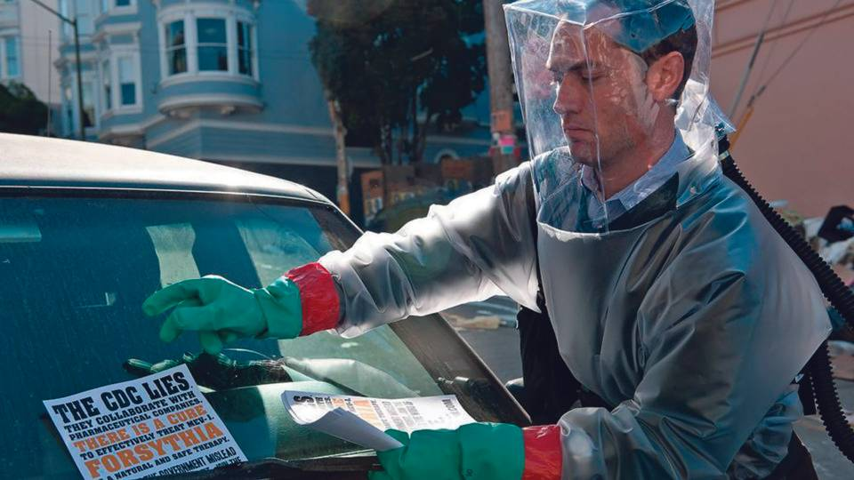 Filme 'Contágio', de Steven Soderbergh, foi lançado em 2011
