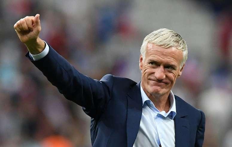 Didier Deschamps, técnico campeão mundial com a França