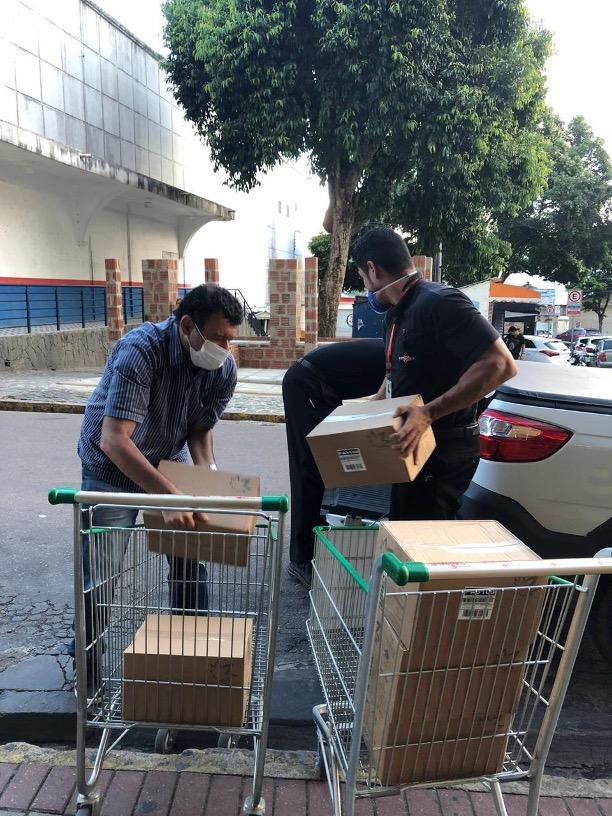 Ferreira Costa realiza doações de EPIs para hospitais