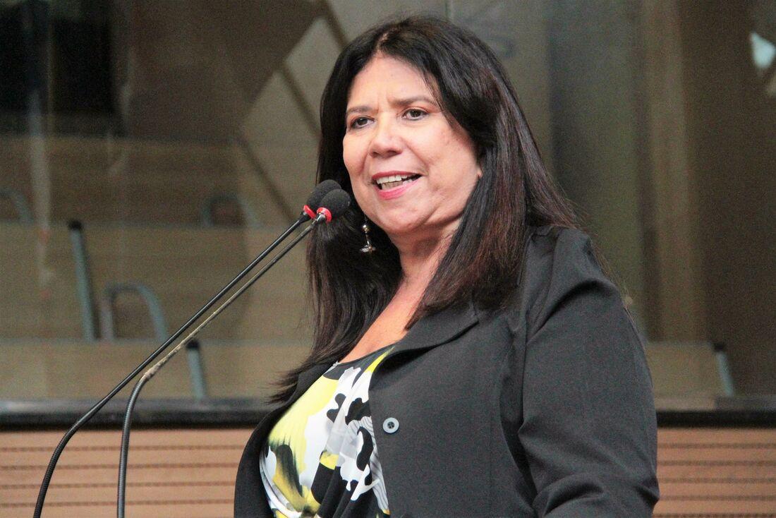 Vereadora Goretti Queiroz