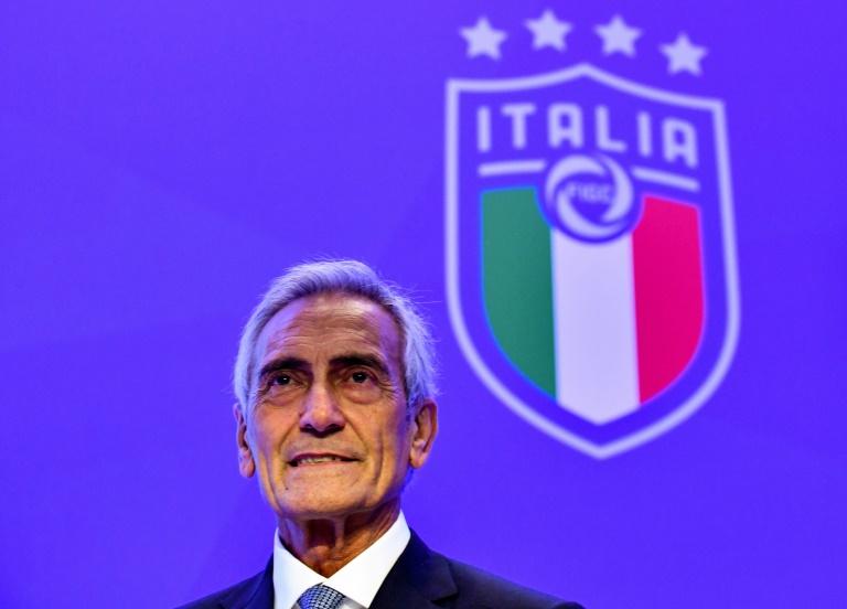 Gabriele Gravina, presidente da Federação Italiana de Futebol