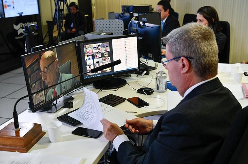 Texto contou com o relatório do senador Esperidião Amin (PP-SC), aprovado em sessão virtual