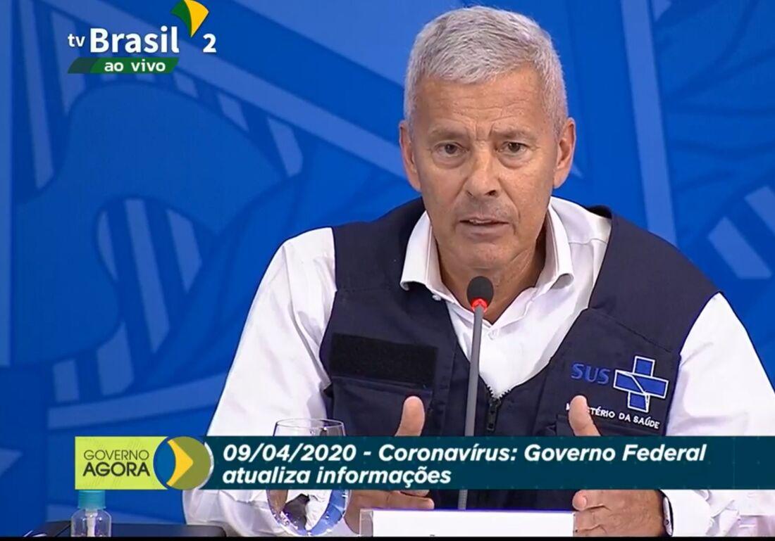 João Gabbardo em coletiva do coronavírus