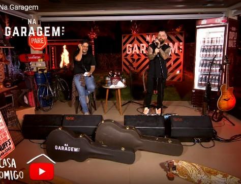 """Com o show """"Na Garagem"""", a dupla Jorge e Mateus conquistou milhares de visualizações"""