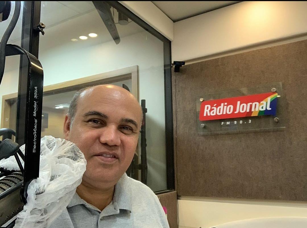 Maciel Junior, comentarista da Rádio Jormal