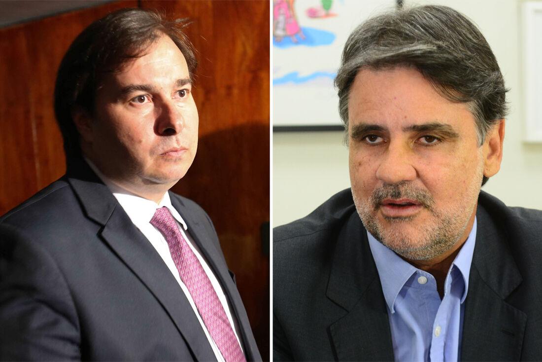 Rodrigo Maia e Raul Henry
