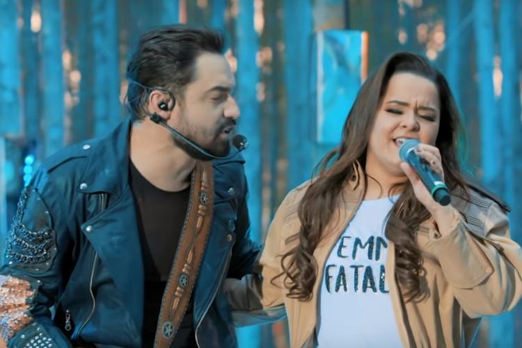 Fernando (da dupla com Sorocaba) e Maiara