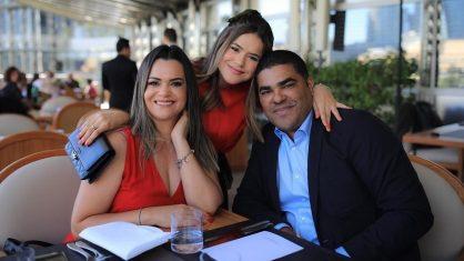 Maisa e seus familiares